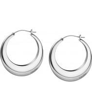 Calvin Klein KJ3DME080100 Ladies ademen zilveren staal geborsteld oorbellen