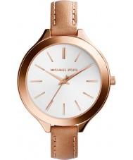 Michael Kors MK2284 Dames slim runway-horloge