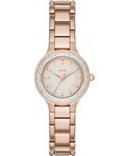 DKNY NY2393 Ladies kamers rose goud verguld horloge