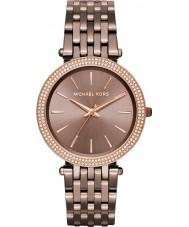 Michael Kors MK3416 Ladies Darci bronzen stalen armband horloge