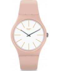 Swatch SUOT102 Dames beigesounds horloge