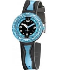 Flik Flak FCSP016 Jongens krijgen in blauw! two tone horloge