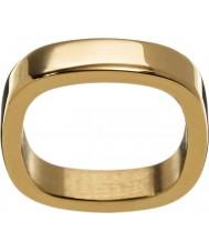 Edblad 2153441876-XS Ladies jolie geel goud verguld ring - maat L (xs)