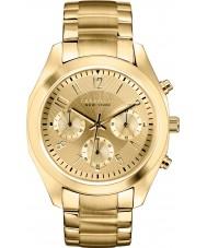 Caravelle New York 44L118 Ladies melissa gouden chronograaf horloge