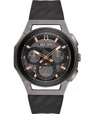 Bulova 98A162 Mens progressief curv horloge
