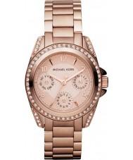 Michael Kors MK5613 Ladies blair rose gouden horloge