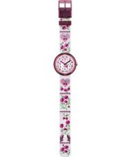 Flik Flak FPNP007 Meisjes fiorissima two tone horloge