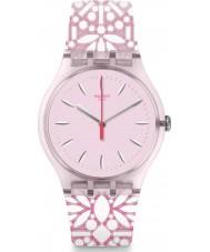 Swatch SUOP109 Dames fleurie horloge