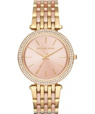 Michael Kors MK3507 Ladies Darci two tone stalen armband horloge