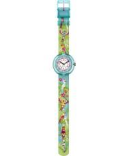 Flik Flak FBNP041 Meisjes papageieiei groen horloge