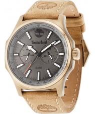 Timberland 14813JSK-61 Mens shermand beige lederen band horloge