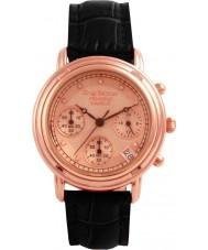 Krug-Baumen 150577DL Principe diamant dames rose goud band horloge