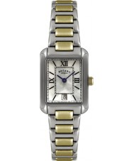 Rotary LB02651-41 Ladies uurwerken two tone horloge