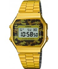 Casio A168WEGC-5EF Mens retro collectie vergulde horloge