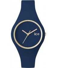 Ice-Watch 001059 Ice glam exclusieve bos blauwe siliconen band horloge