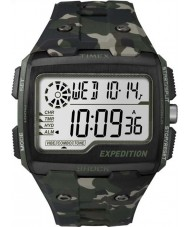 Timex TW4B02900 Mens expeditie digitale shock khaki camo chrono horloge