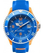 Ice-Watch 001331 Mens ice-sportief blauw siliconen band grote horloge