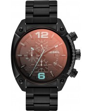 Diesel DZ4316 Mens overflow zwart ip chronograafhorloge