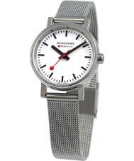 Mondaine A658-30301-11SBV Evo petite zilveren stalen gaas armband horloge