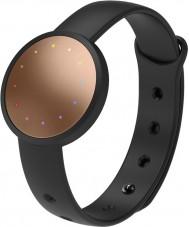 Misfit MIS2001 Shine 2 zwarte rubber horloge compatibel met Android en iOS