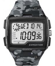 Timex TW4B03000 Mens expeditie digitale shock grijze camo chrono horloge