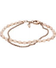Fossil JA6851791 Dames mode rose goud stalen armband