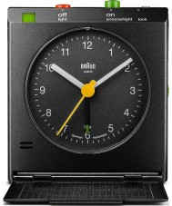 Braun BNC005BKBK Motion actived snooze wekker - zwart