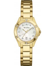 Bulova 97W100 Ladies diamanten horloge