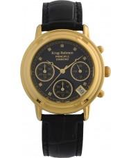Krug-Baumen 150573DL Ladies principe diamant zwarte chronograaf
