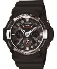 Casio GA-200-1AER Mens G-SHOCK wereld tijd zwart chronograafhorloge