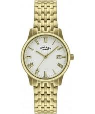Rotary GB00794-32 Mens ultraslanke vergulde horloge