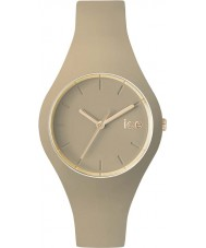 Ice-Watch 001061 Ice glam exclusieve bos beige siliconen band horloge