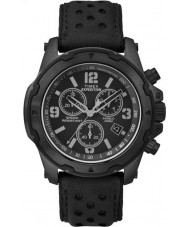 Timex TW4B01400 Mens expeditie analoge shock black chrono horloge