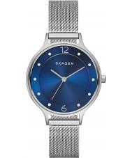Skagen SKW2307 Ladies anita zilveren mesh band horloge