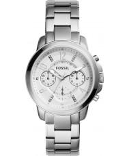Fossil ES4036 Ladies gwynn zilveren chronograafhorloge