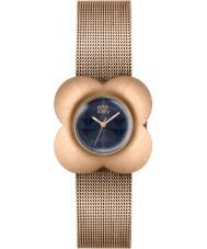 Orla Kiely OK4052 Ladies papaver rose goud vergulde armband horloge
