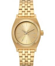 Nixon A1130-502 Ladies medium tijd teller alle gouden stalen horloge