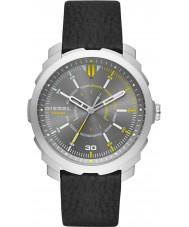 Diesel DZ1739 Mens machinus zwart lederen band horloge