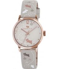 Radley RY2342 Ladies weide vanilla gedrukt riem horloge