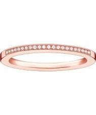 Thomas Sabo Dames glam en ziel rozen gouden diamantring