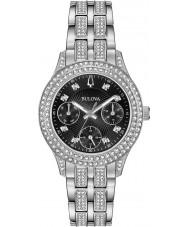 Bulova 96N110 Dames kristal horloge