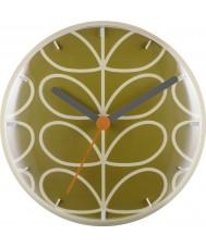 Orla Kiely OK-WCLOCK02 Lineaire stamklok
