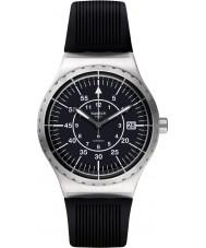 Swatch YIS403 Mens sistem pijl zwarte rubberen band horloge